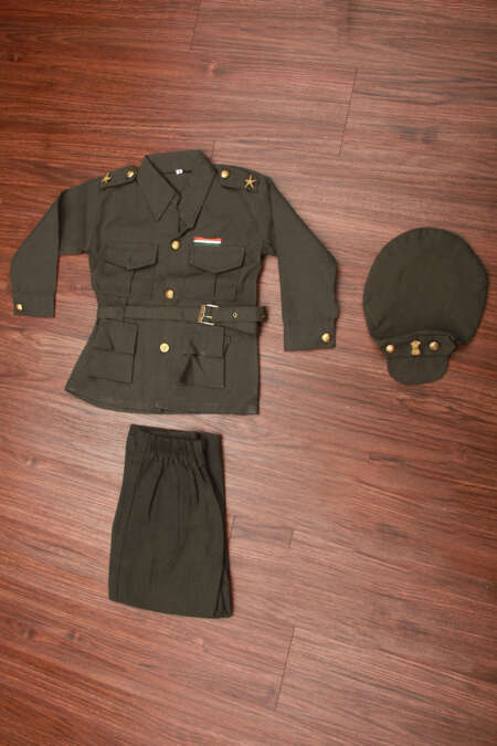 Army fancy dress costume