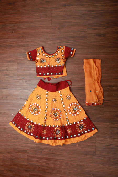 YELLOW CHANIYA CHOLI