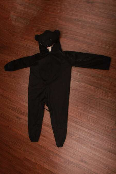 Black bear fancy dress costume