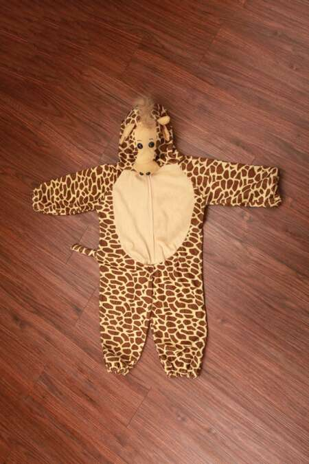 Giraffe fancy dress costume