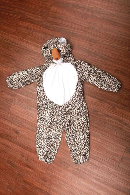 Snow leopard fancy dress costume