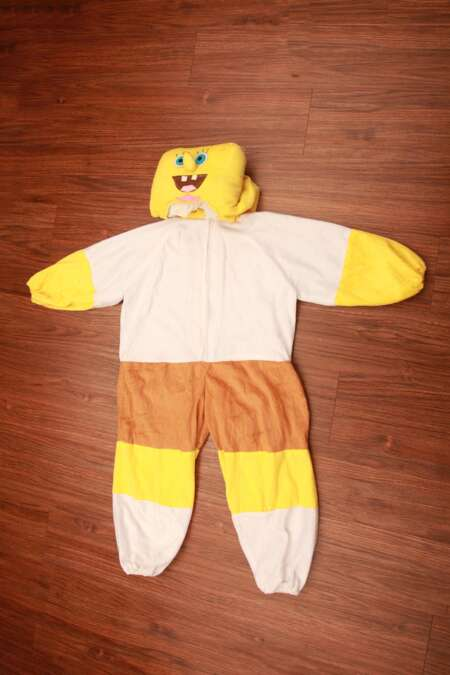 Spongebob fancy dress costume
