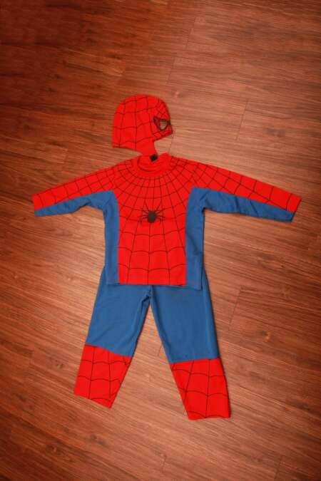 Spiderman fancy dress costume