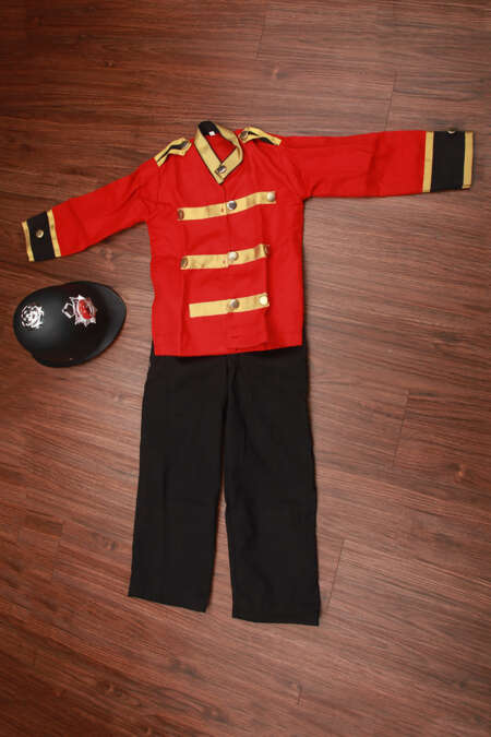British police fancy dress costume