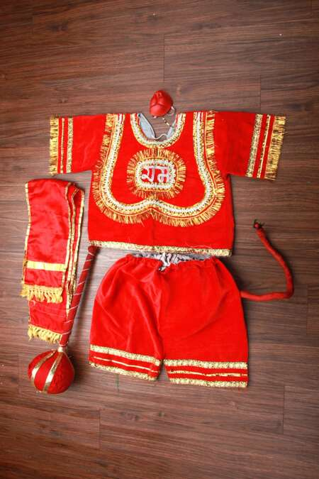 Hanuman fancy dress costume