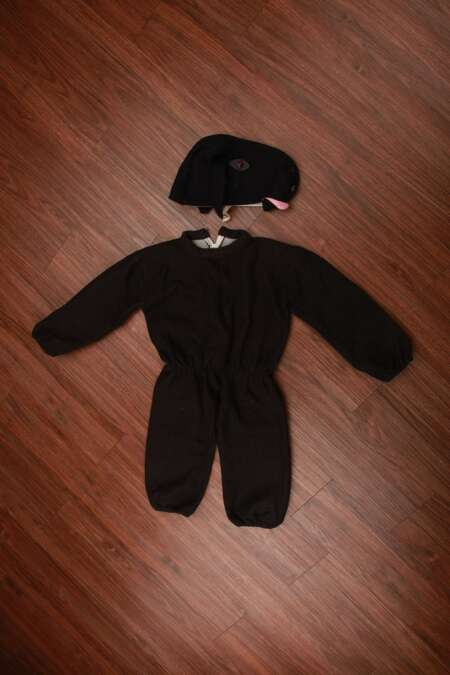 Black sheep fancy dress costume