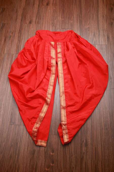 red dhoti by rentsake.com