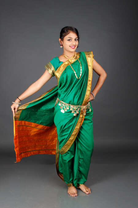 Readymade Nauvari saree