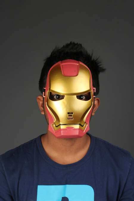 Iron man mask by rentsake.com