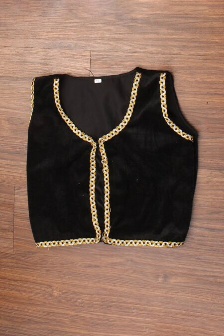 Black velvet koti- Kids' dance costume